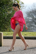 Имоджен Томас, фото 294. Imogen Thomas Out and about in London - 23/02/12, foto 294