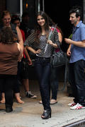 Victoria Justice outside her hotel in NYC 8/26/11