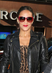 Paula Patton - heads to the Today show in NYC 9/18/13
