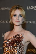 Evan Rachel Wood - LACMA Art + Gala in Los Angeles 10/27/12