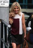 Mollie King | Leaving a Studio in London | May 14 | 6 pics